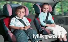 Çocuklara özel koltuk zorunluluğu!
